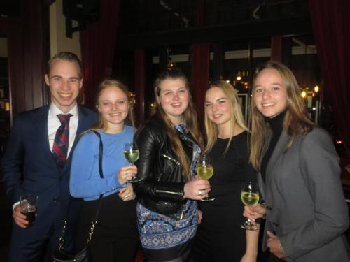 Maandelijkse borrel d.d. 3 april 2019