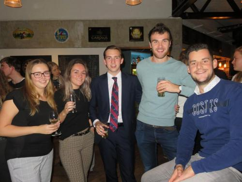 CNR borrel d.d. 14 november 2018