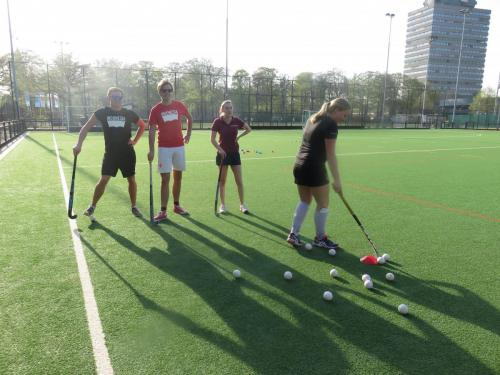 Hockeytraining d.d. 18 april 2018