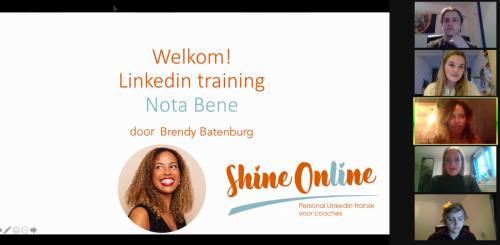 LinkedIn training d.d. 24 maart 2021