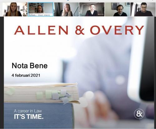 Webinar Allen & Overy d.d. 4 febrauri 2021